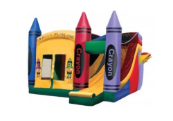 Indoor Facility Crayon Castle Combo