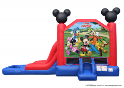 Mickey and Friends Single Slide Combo Wet