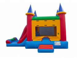 Indoor Facility Single Slide Combo
