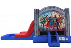 Justice League Single Slide wet
