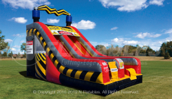 High Voltage 18' Slide