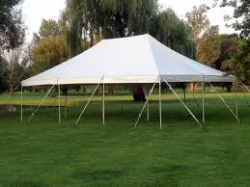 20x20 Pole Tent Commercial