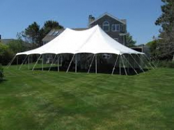 30x60 Pole Tent Commercial