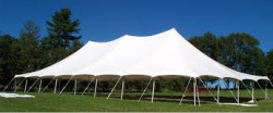 40x140 Pole Tent Commercial