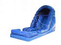 blue marble dry slide