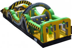 35 Ft Radical Run Obstacle Course