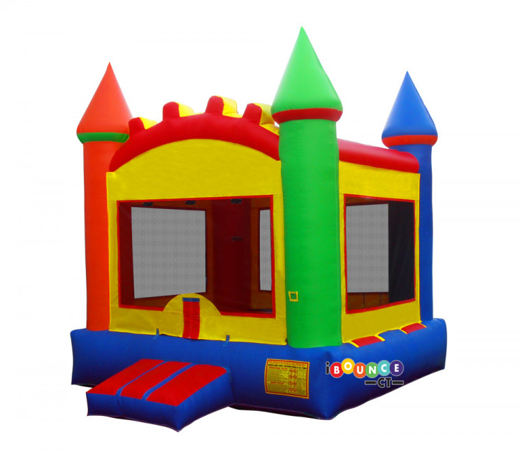 $200 Full Day Rental Multi Color Bounce Castle