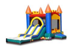 ($270/Day) Bounce Castle Combo Dual Slide