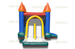 ($310/Day) *Wet Use* Dual Slide Castle Combo
