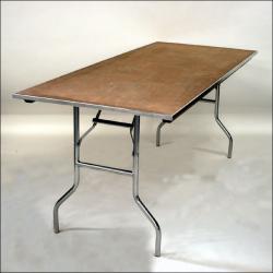 $10 6FT Wood Children's Table