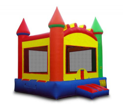 ($200/Day) Multi Color Bounce Castle