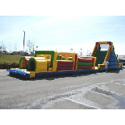 72' Obstacle Course w/slide