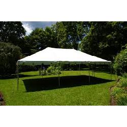 20 x 30 White Frame Tent