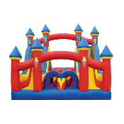 TURBO RUSH CASTLE OBSTACLE COURSE