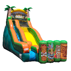 20ft Tiki Island Water Slide