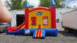 Castle W/Slide (22x13x15)
