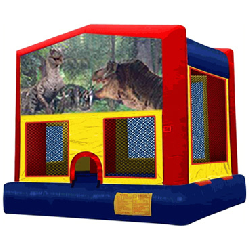 Jurassic Panel Bounce House