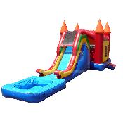 Wacky Color Pool Slide Combo
