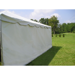 8 feet Tall 20ft Solid Tent Side