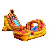 Lava Twist 27' Slide (Dry)