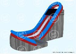 Velocity 22 foot tall WET Slide