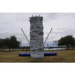 Rock Wall & Bungee Trampoline