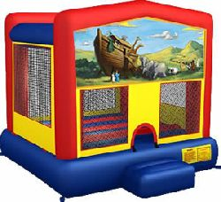 Noah's Ark Themed Bounce House