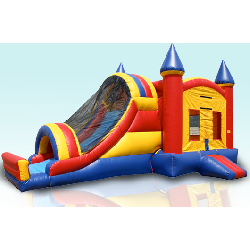 4 In 1 Castle Slide Combo