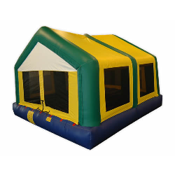 Open Top Themed Mega Bounce