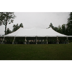 Tent - 40x80 White Pole (set on grass)