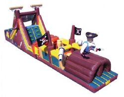 Pirate Obstacle Course