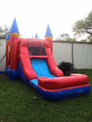Combo Castle Bounce House with Slide