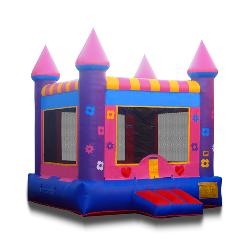 Pink & Purple Castle 13 x 13