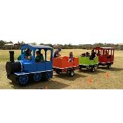 Trackless Train incl 1 staff