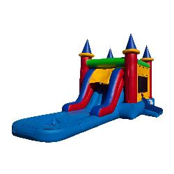 Single Lane Castle Combo w Pool