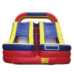 18ft Dual Lane Dry Slide - $300