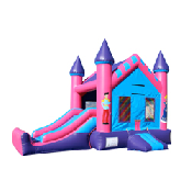 Princess Castle W/ Slide  (22x13x15)