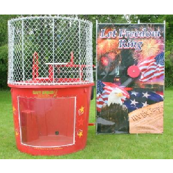 Dunk Tank Let Freedom Ring