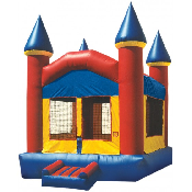 Funhouse Castle Inflatable Bouncer