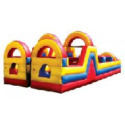 40' Turbo Rush Obstacle (2 Piece)