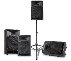 Portable PA System with Mic and Stand
