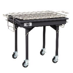 2'x30 Charcoal Grill