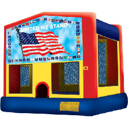 Patriotic Bounce House