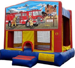 FIRE FIGHTER PANEL BOUNCE