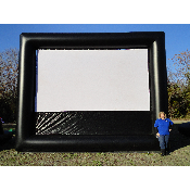 Auction Package 21ft (16'x9' Viewable) Premiere Movie Screen