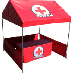 First Aid Booth