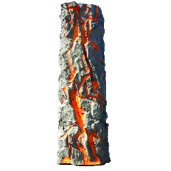 Lava Rockwall