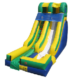 16ft Single Lane Dry Slide - $225