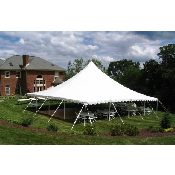 40x40 Pole Tent  (180 people)