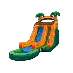 15' Tropical Slide w Pool
